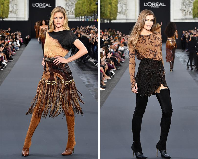 Напоказе L'Oréal Paris: Даутцен Крез. Валентина Сампайо