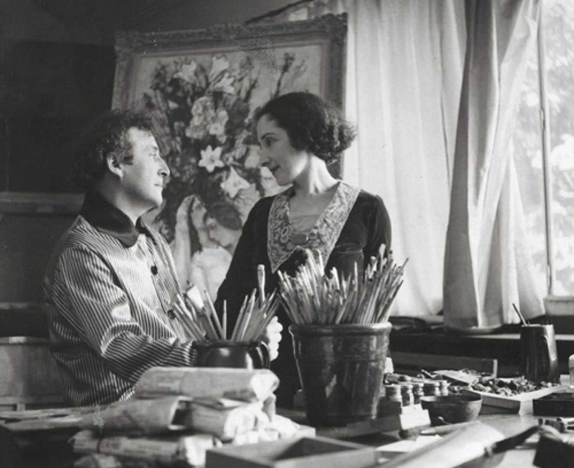 Art & More: шесть фактов о Марке Шагале, или Новые панно художника в Третьяковке. Факт 4— Шагал, сексуальная революция иженщины