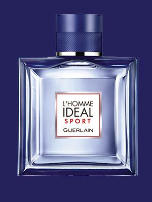 Чем пахнет май: морская соль, свежесть кипарисов иаромат фиалки. Идеальный мужчина L'Homme Idéal Sport, Guerlain