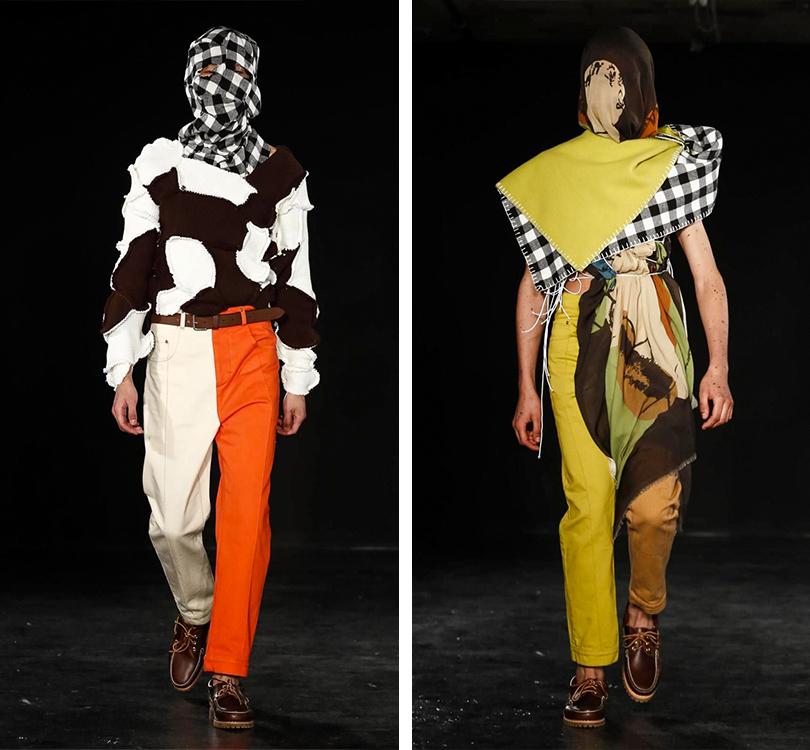 Men inStyle: самые эпатажные образы Недели мужской моды вЛондоне. Alex Mullins