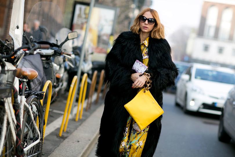 Лучшие образы street style на Неделе моды в Милане: Итальянская It-girl Кандела Новембре