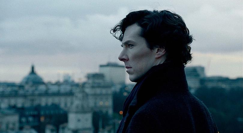 Бенедикт Камбербетч иего скулы всериале BBC «Шерлок», 2010 года