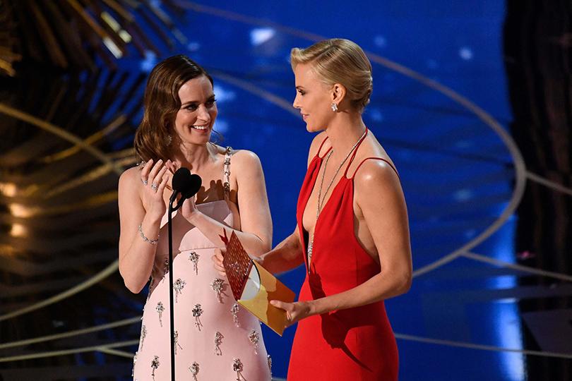 Oscars Special 2016: Эмили Блант иШарлиз Терон