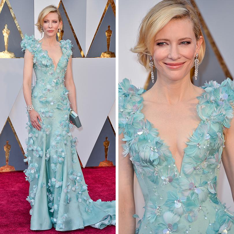 Ювелирные украшения звезд на церемонии «Оскар-2016»: Кейт Бланшетт в Tiffany & Co