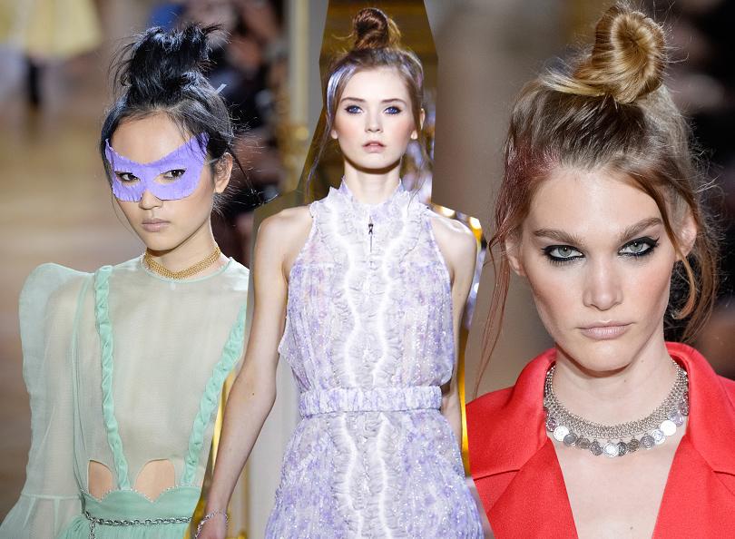 Уроки красоты с Евгенией Ленц: как повторить образы с показов парижской Недели высокой моды. Показ Ulyana Sergeenko