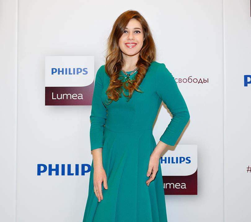 Beauty Shopping: Philips представили обновленную линейку фотоэпиляторов Lumea. Гости: Лоя