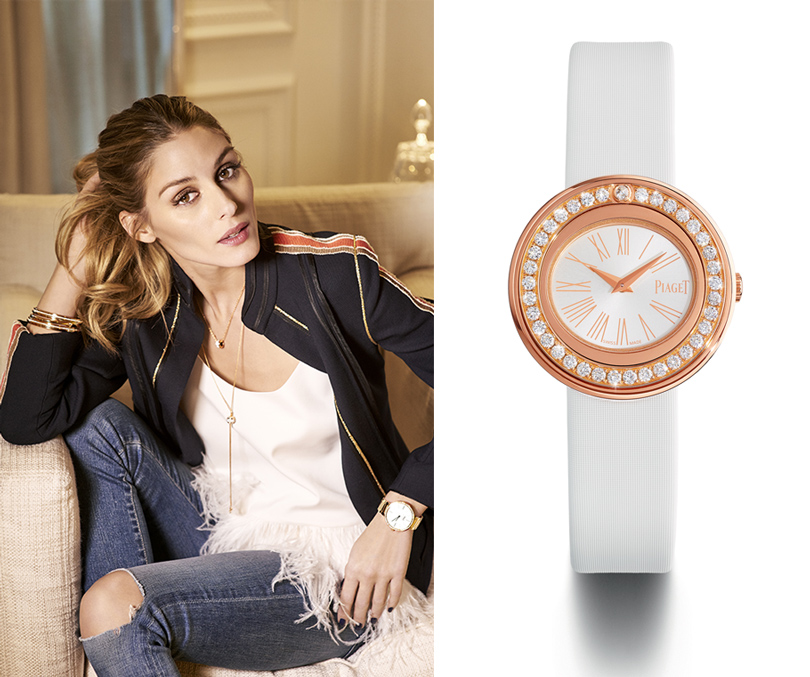 Style Icon: Оливия Палермо в имиджевой кампании Piaget Possession