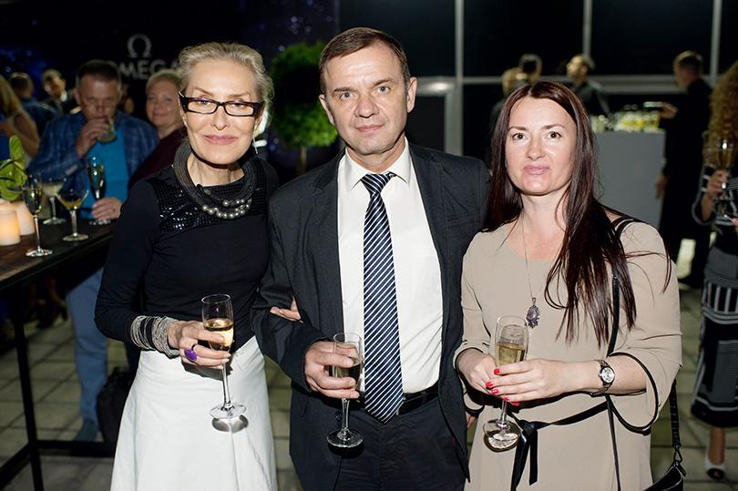 Ольга Свиблова. Юрий Гидзенко