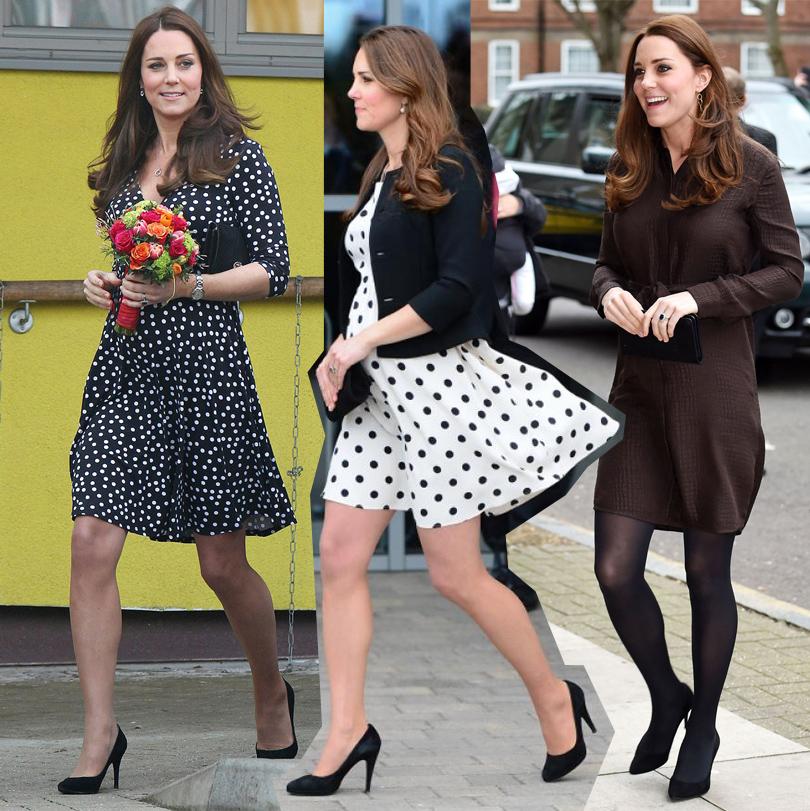 Smart Shopping: почему герцогиня Кембриджская выбирает демократичные марки? Вплатье ASOS, вплатье Topshop, вплатье Hobbs