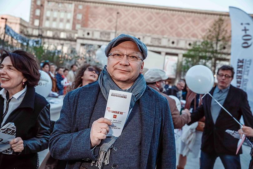 КиноТеатр: «Современник» отметил юбилей на Триумфальной площади. Игорь Угольников