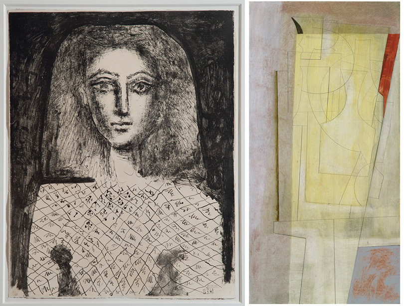 Дизайн & Декор: предметы интерьера из дома Стинга в Лондоне выставлены на аукцион. Литография Пабло Пикассо; Бен Николсон «55 марта (аметист)»