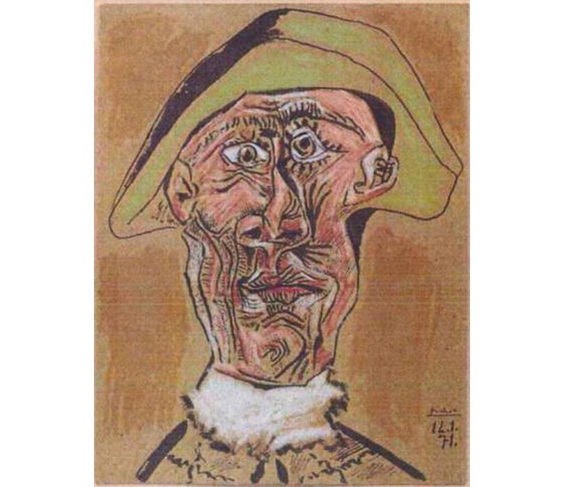 Пабло Пикассо — «Голова Арлекина»