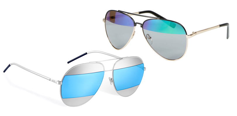 Мода и бизнес: найти десять отличий. Как масс-маркет «вдохновляется» люксовым сегментом. Cолнцезащитные очки Dior VSсолнцезащитные очки ASOS