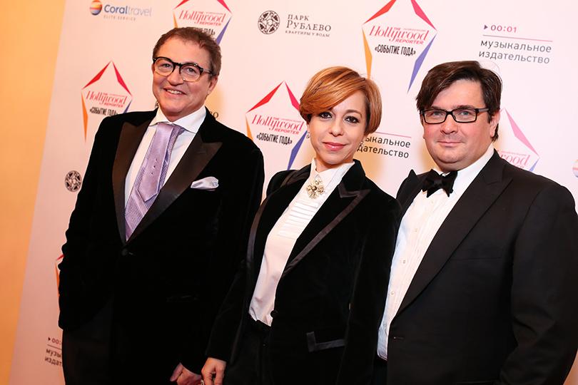 Дмитрий Дибров, Марианна Максимовская и Василий Борисов