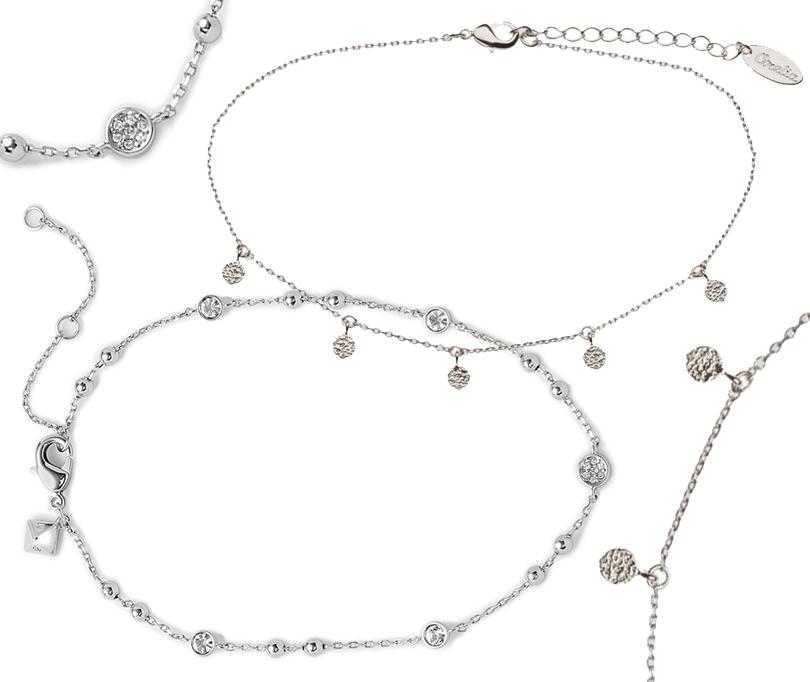 Миниатюрный браслет на щиколотку Topshop, браслет на щиколотку с кристаллами Rebecca Minkoff