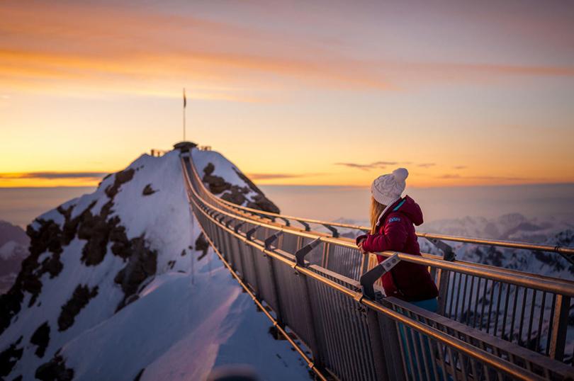Где кататься на горных лыжах в мае: Гштаад, Швейцария
