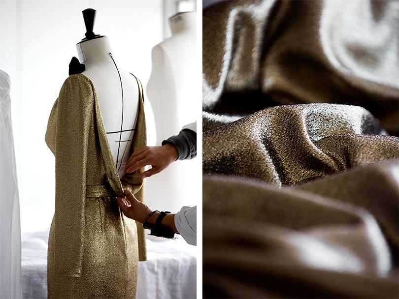 Savoir-Faire: как создают платья звезд для Каннского фестиваля? Марион Котийяр