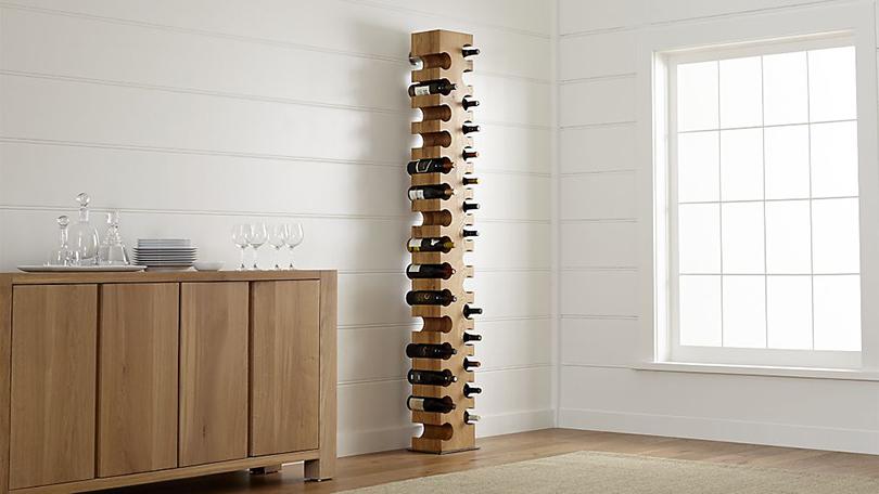 Дизайн & Декор: винные стеллажи и полки-конструкторы — для стильных интерьеров и модных вечеринок. Big Sur из коллекции Crate & Barrel