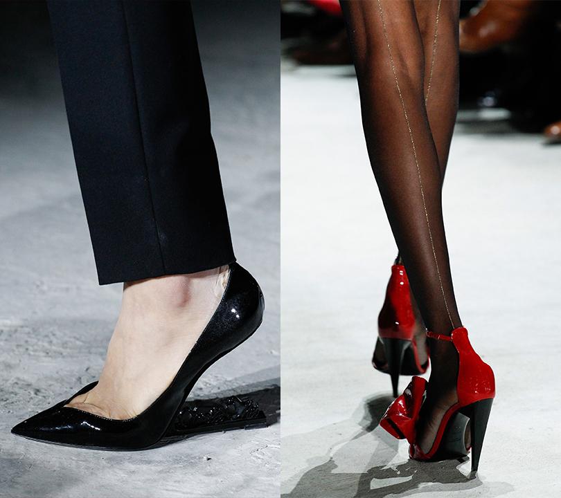 Shoes &Bags Blog: объект желания— сапоги споказа Yves Saint Laurent