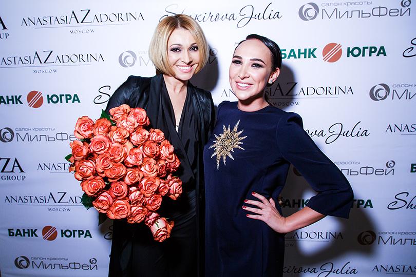 Анжелика Агурбаш и Анастасия Задорина