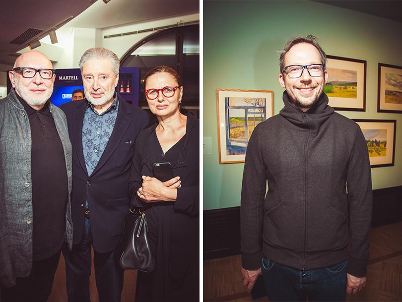 Открытие выставки Зинаиды Серебряковой вТретьяковской галерее. Вениамин Смехов и Антон Белов