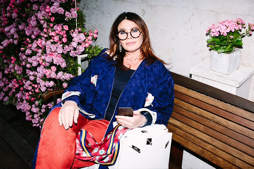Полина Гагарина навечеринке вчесть запуска французского парфюмерного бренда Haute Fragrance Company. Виктория Аминова