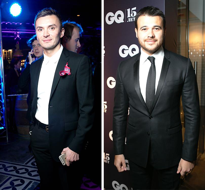 Вечер «100 самых стильных мужчин» по версии GQ: Евгений Заболотный. Эмин Агаларов