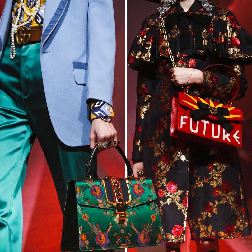 Style Notes: фантасмагория Алессандро Микеле. Показ Gucci вМилане