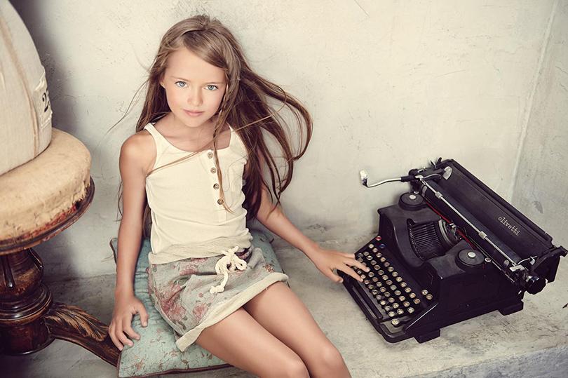Модная индустрия молодеет? Россиянка Кристина Пименова стала супермоделью в 10 лет