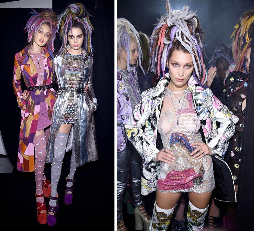 Style Notes: парад супермоделей или рейв-вечеринка? Marc Jacobs в Нью-Йорке. Джиджи Хадид иКендалл Дженнер. Белла Хадид