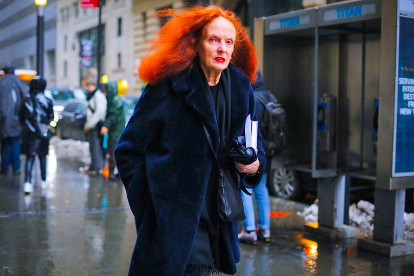 Street Style: уличный стиль наНеделе моды вНью-Йорке. Грейс Коддингтон