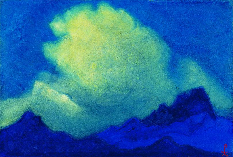 Art & More: последнее большое путешествие Николая Рериха. «Буря»