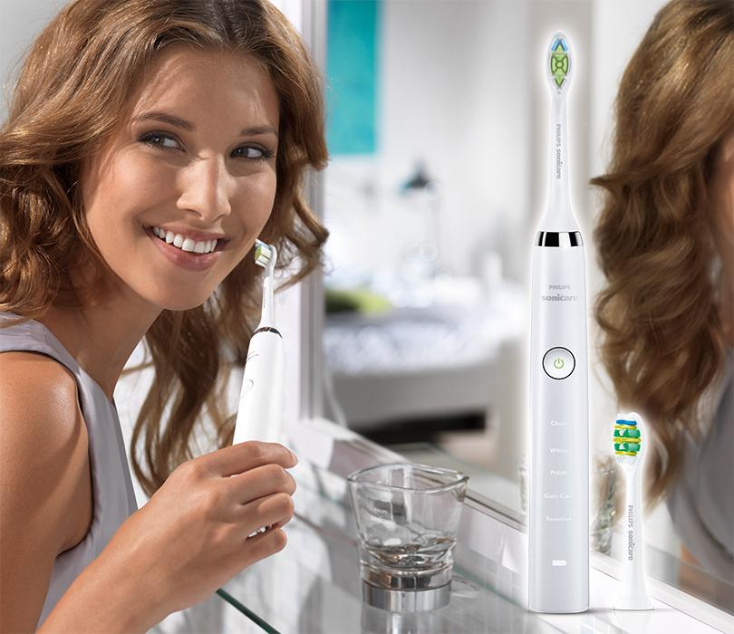 Электрические звуковые зубные щетки Philips Sonicare