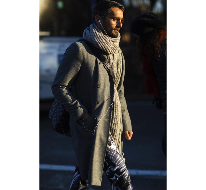 Men in Style: уличная мода на выставке Pitti Uomo. Fashion-редактор Симон Марчетти