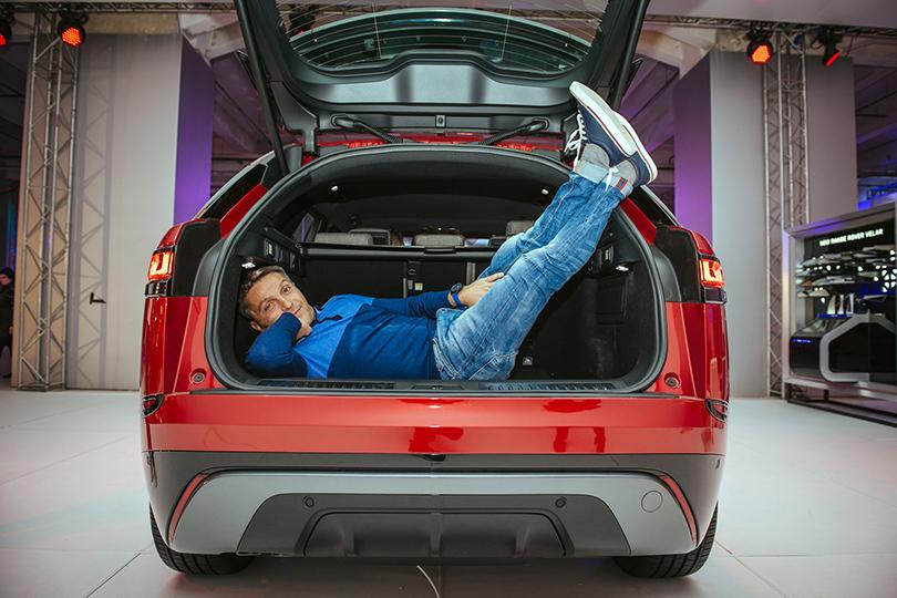 Российская премьера Range Rover Velar вМузее Москвы: Леонид Барац