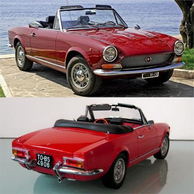 Семь главных машин легендарного автомобильного дизайнера Тома Тьярда. 1965— Fiat 124 Spider