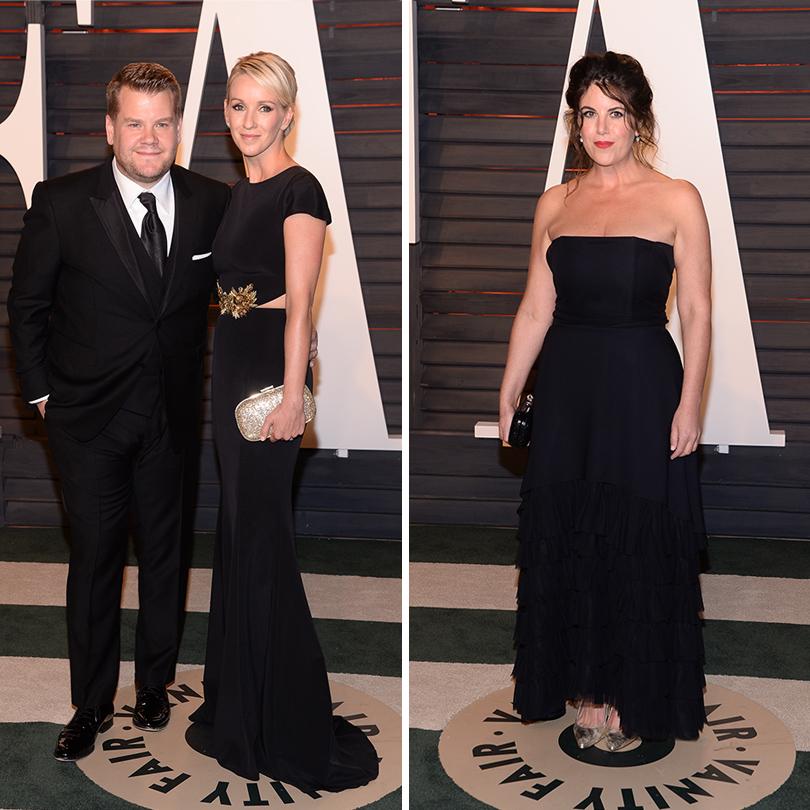 Самые важные светские вечеринки «Оскара» — афтепати Vanity Fair: Джеймс Корден со спутницей. Моника Левински