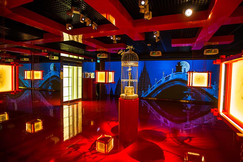 Art Weekend вМоскве: встречаемся всказке. Андерсен иЗверев вМузееАЗ. Третий этаж: водворце китайского императора