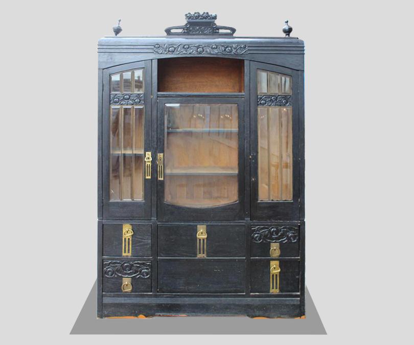 Книжный шкаф, ар-деко, 60000р. наBufetoff.ru