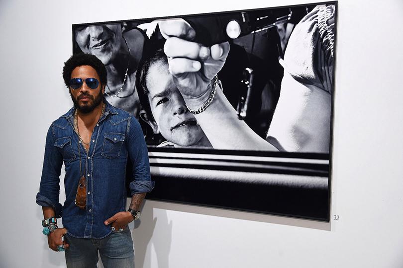 Арт-ярмарка современного искусства Art Basel: Лени Кравиц