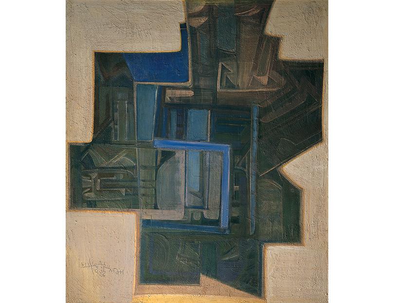 «Вертограды Михаила Шварцмана». Михаил Шварцман. «Двери неба», 1987-88 гг.