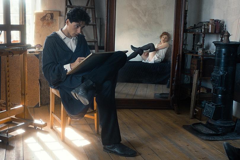 Фестиваль «Новое кино Австрии» Центр документального кино  19–23 апреля Кадр изфильма «Эгон Шиле: Смерть идева»