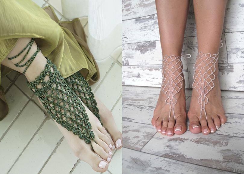 Style Crush: пляжные «сандалии» без подошвы