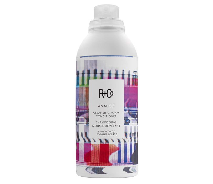 Идеальная косметичка: 7 средств для волос на все случаи жизни. Наслучай, если три средства надо заменить одним: R+Co Analog Cleansing Foam Conditioner