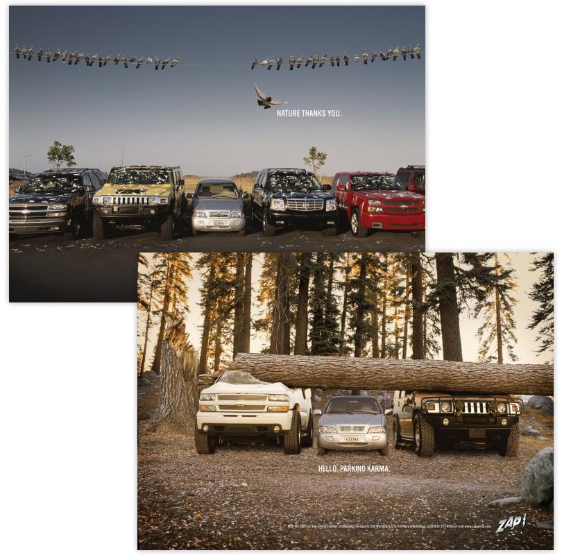 Авто: как автомобильные марки глумятся друг над другом