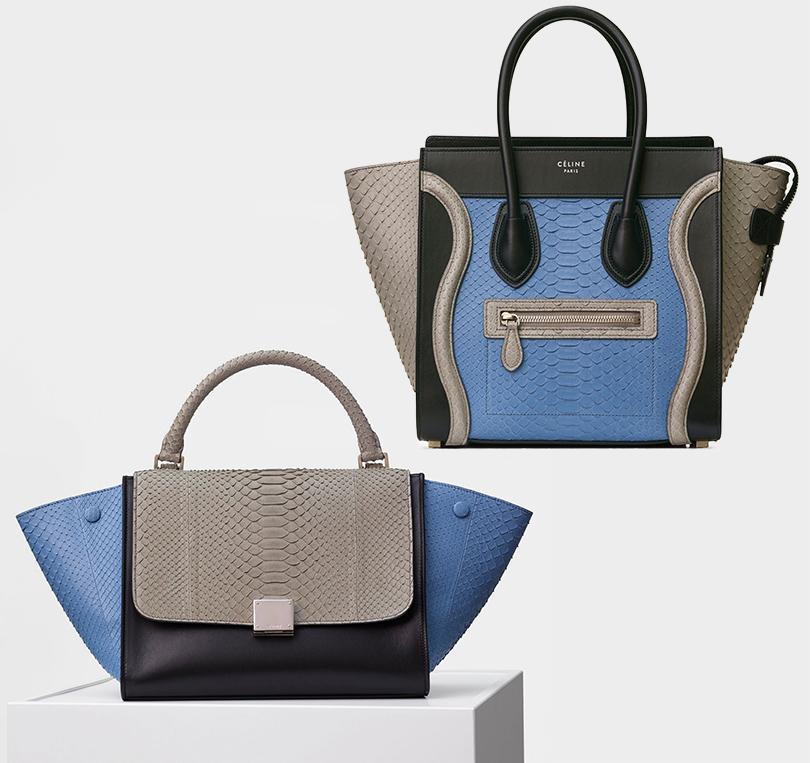 Style Notes: 5причин обратить внимание нааксессуары Céline. Сумки Céline Trapeze иCéline Luggage Micro