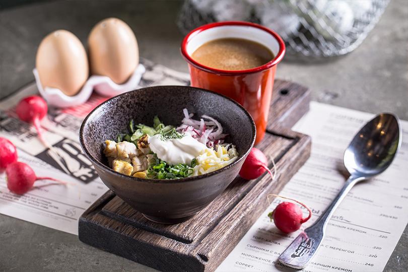 Всвоей тарелке: холодные супы вресторанах Москвы. Chicken Run