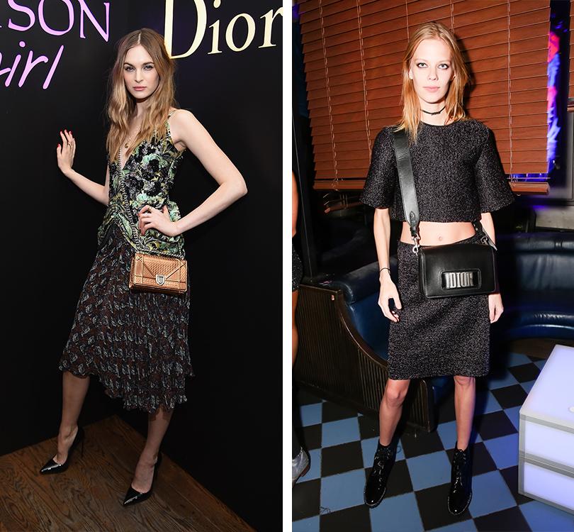 Total Beauty: Белла Хадид иКамиль Роу навечеринке Dior Poison Сlub вНью-Йорке. Лаура Лов. Лекси Болинг