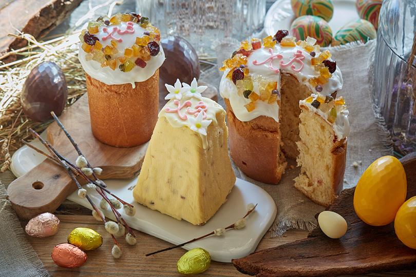 Пасха вмосковских ресторанах: необычные куличи, подарочные корзины ипраздничное меню. «Хлебная лавка»