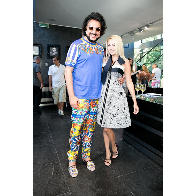 Edem Couture в Сочи: Филипп Киркоров и Яна Рудковская